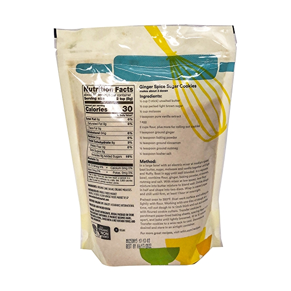 Organic Light Brown Sugar, 24 oz 3