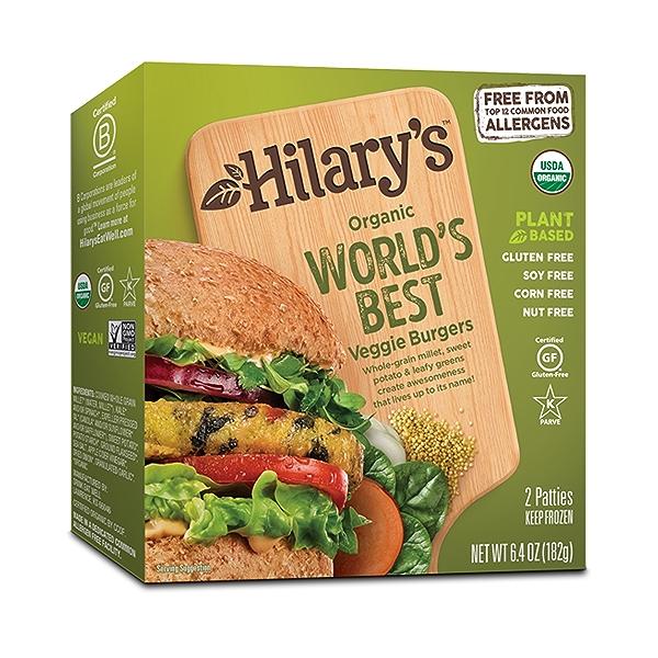 Organic World's Best Veggie Burger, 6.4 oz 1