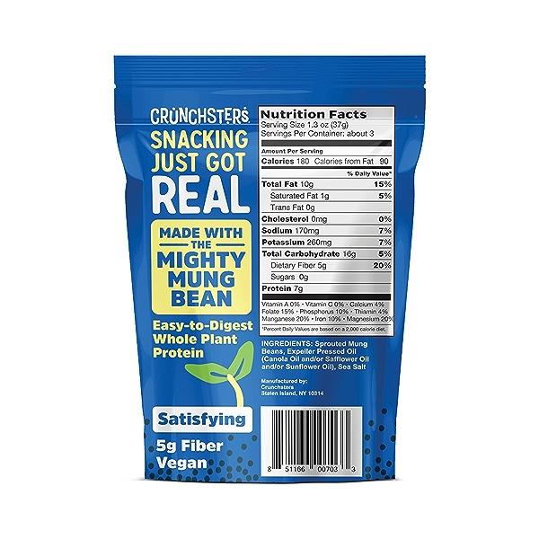 Sea Salt Protein Snack Share Size, 4 oz 2