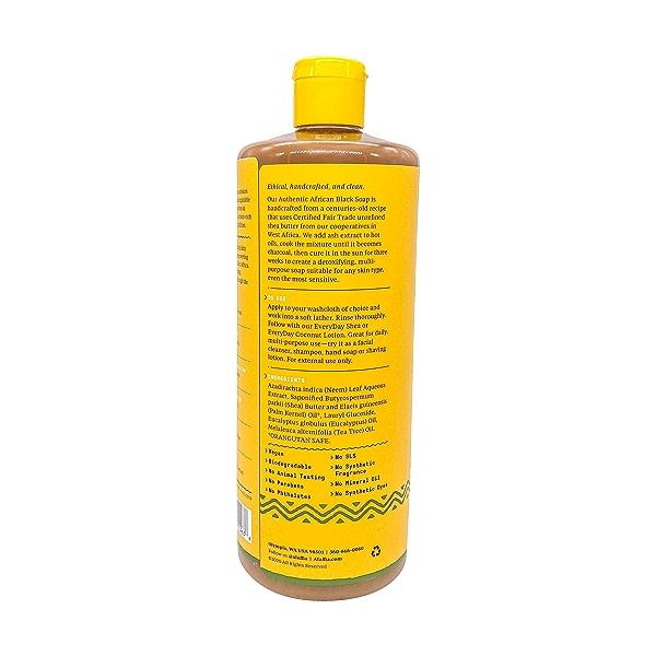 Eucalypt Tea Tree Black Soap, 32 fl oz 3