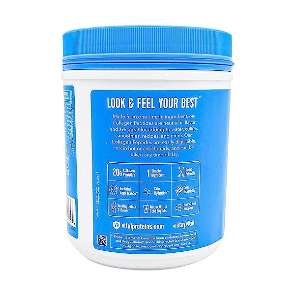 Unflavored Collagen Peptides, 20 oz 3