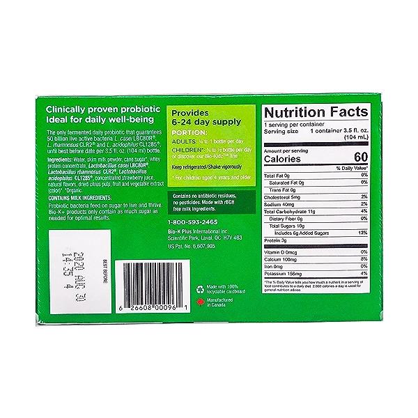 Strawberry Dairy Probiotic, 21 fl oz 2