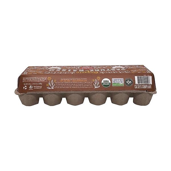 Organic Pasture-Raised Large Eggs, 12 eggs 5