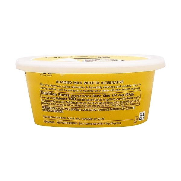 Artisan Almond Milk Ricotta, 8 oz 2