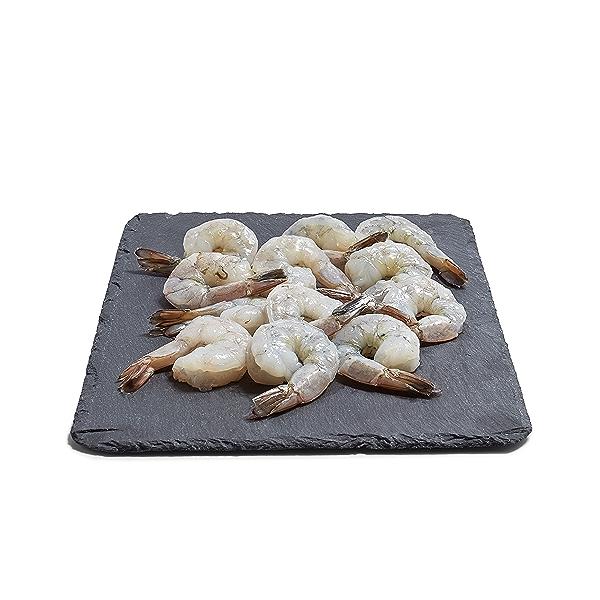 Peeled Deveined White Shrimp 26-30 Count 1