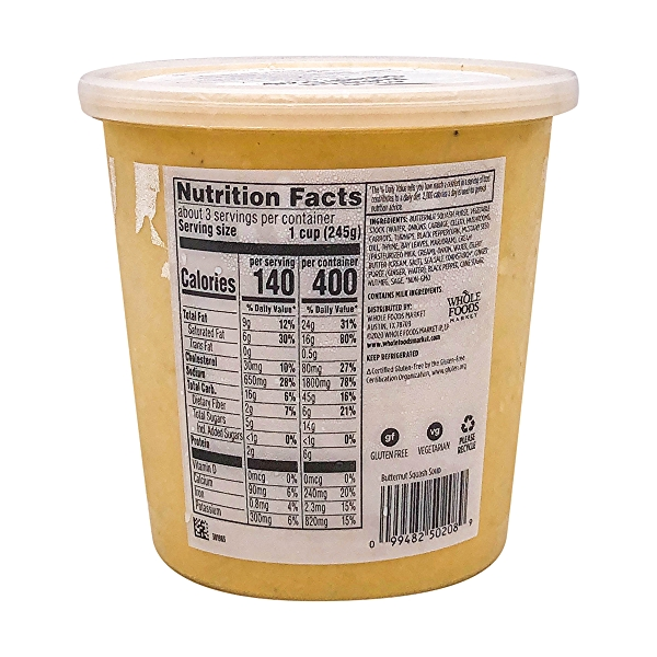 Aromatic Butternut Squash Soup, 24 oz 2