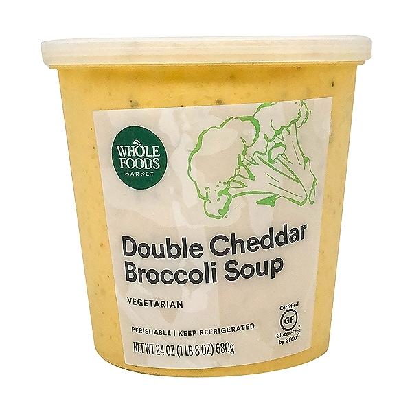 Double Cheddar Broccoli Soup, 24 oz 2