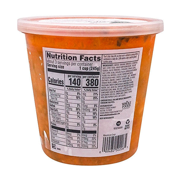 Minestrone Soup, 24 oz 3
