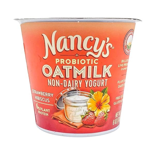 Strawberry Hibiscus Oatmilk Yogurt, 6 oz 1