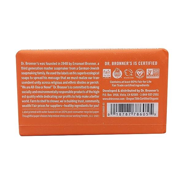 Fairtrade Tea Tree Hemp Soap Bar, 5 oz 2