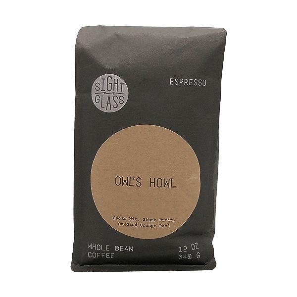 Owl's Howl Espresso Whole Bean Coffee, 12 oz 1