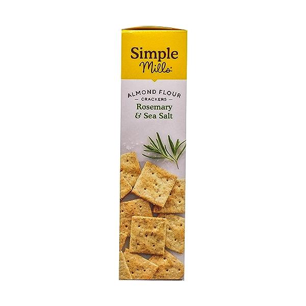 Rosemary & Sea Salt Almond Flour Crackers, 4.25 oz 4