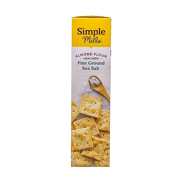 Fine Ground Sea Salt Almond Flour Crackers, 4.25 oz 4