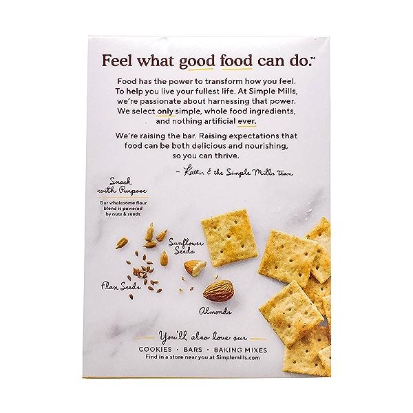 Fine Ground Sea Salt Almond Flour Crackers, 4.25 oz 3