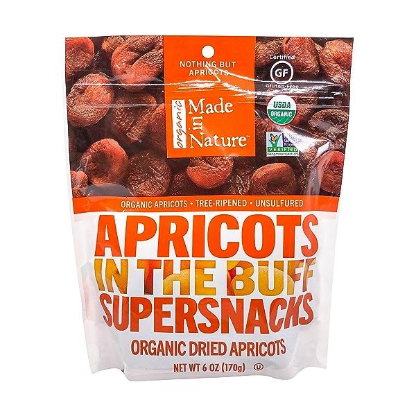 Organic Apricots Dried Fruit, 6 oz 1