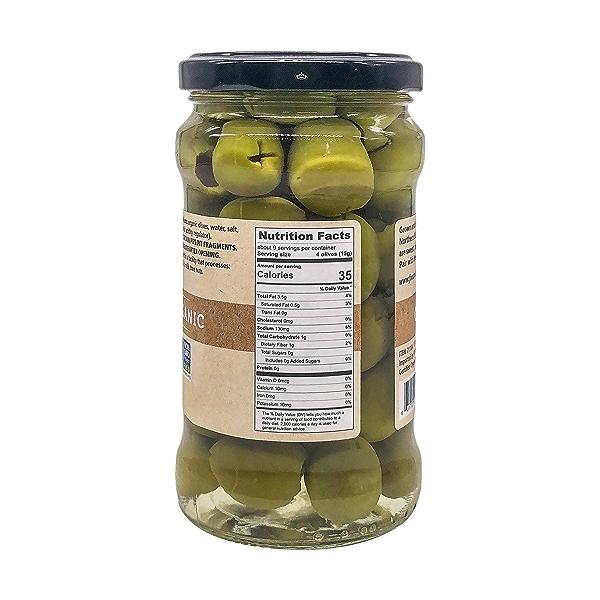 Organic Castelvetrano Pitted Olives, 10.6 oz 2