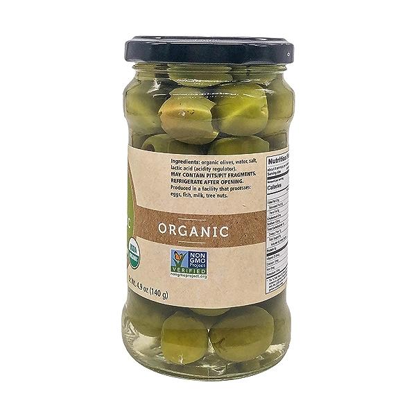 Organic Castelvetrano Pitted Olives, 10.6 oz 3