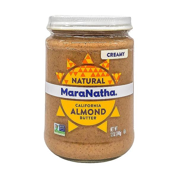 Creamy Almond Butter, 12 oz 1