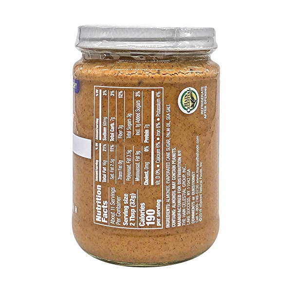 Crunchy Almond Butter, 12 oz 2