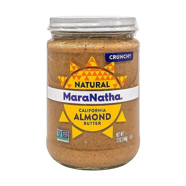 Crunchy Almond Butter, 12 oz 1