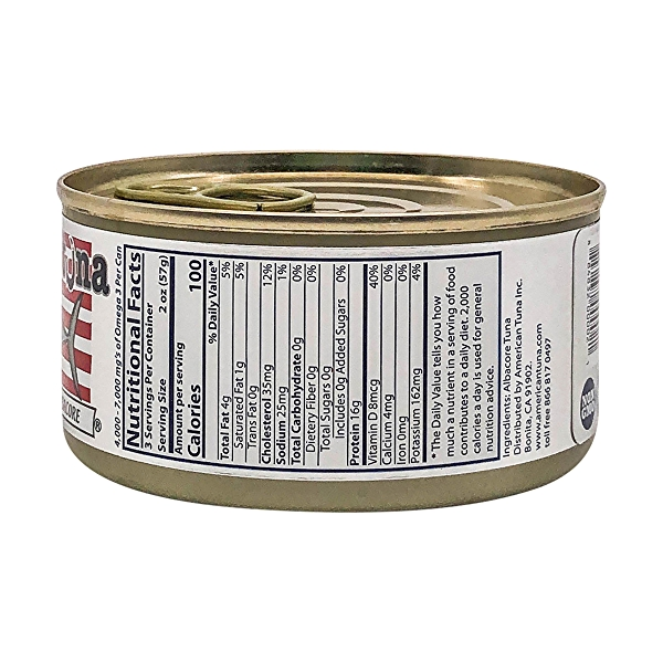 Pole Caught Albacore Tuna (No Salt) 2