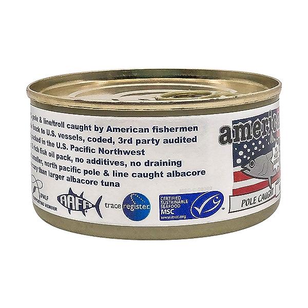 Pole Caught Albacore Tuna (No Salt) 4
