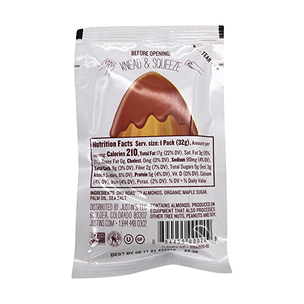 Maple Almond Butter (Squeeze Pack), 1 each 2