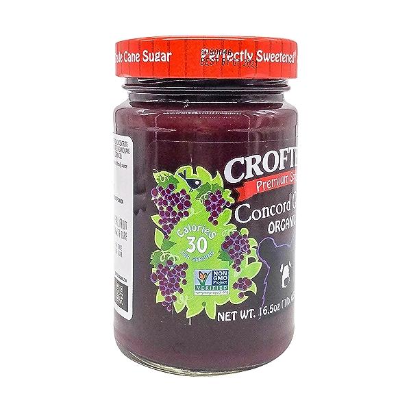 Organic Concord Grape Fruit Spread, 16.5 oz 5