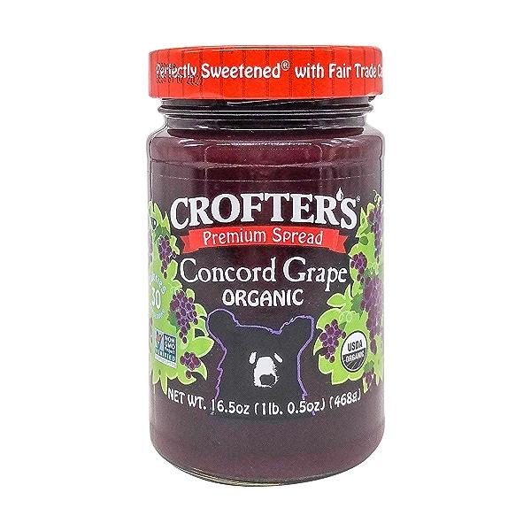 Organic Concord Grape Fruit Spread, 16.5 oz 1
