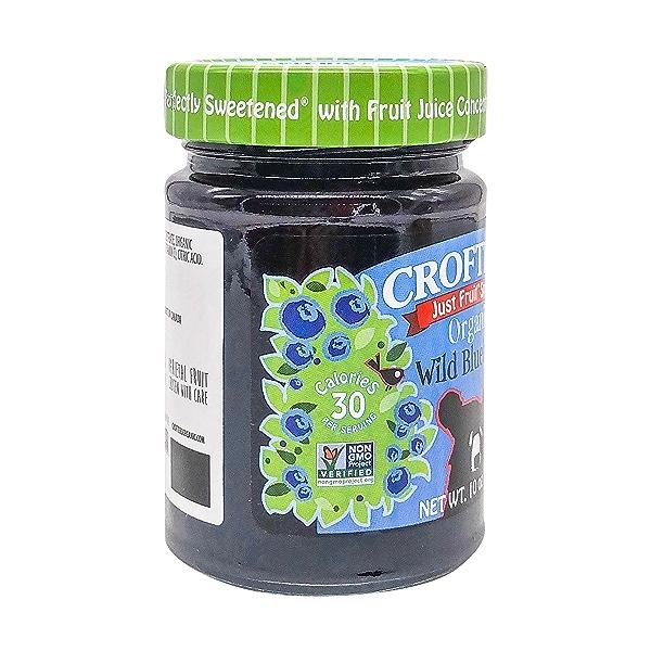 Organic Organic Wild Blueberry Fruit Spread, 10 oz 4