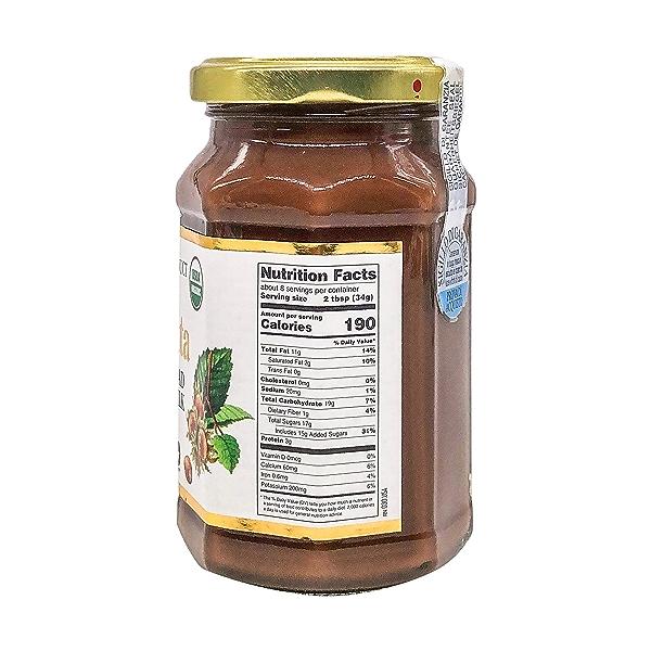 Organic Hazelnut Spread with Cocoa & Milk, 9.52 oz 2