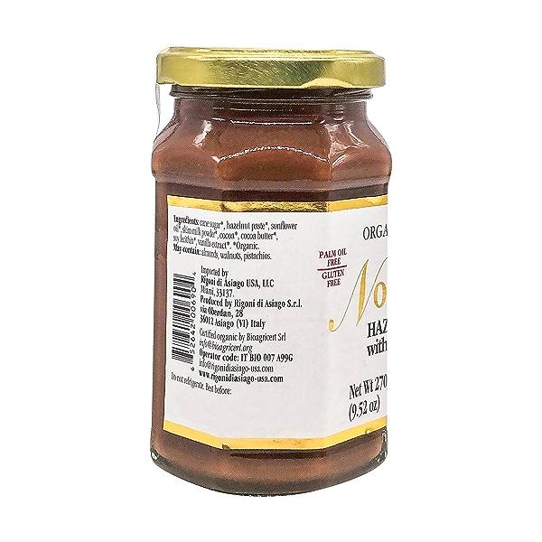 Organic Hazelnut Spread with Cocoa & Milk, 9.52 oz 3
