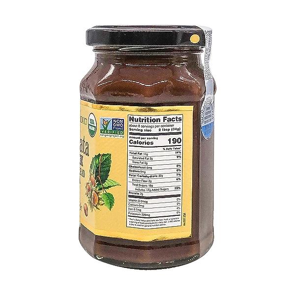 Dairy Free Organic Hazelnut & Cocoa Spread, 9.52 oz 2