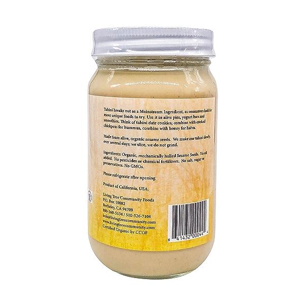 Organic Raw Tahini, 16 oz 3