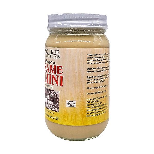Organic Raw Tahini, 16 oz 4