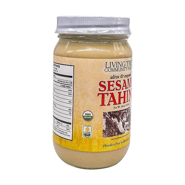Organic Raw Tahini, 16 oz 5