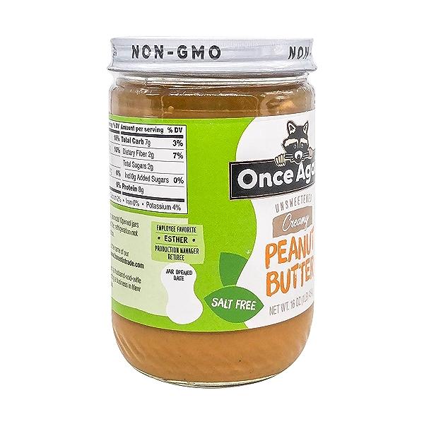 Organic Creamy Peanut Butter 3