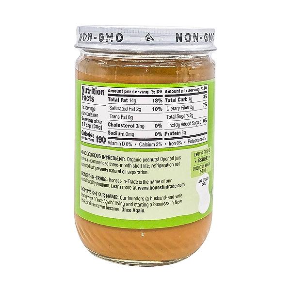 Organic Creamy Peanut Butter 2