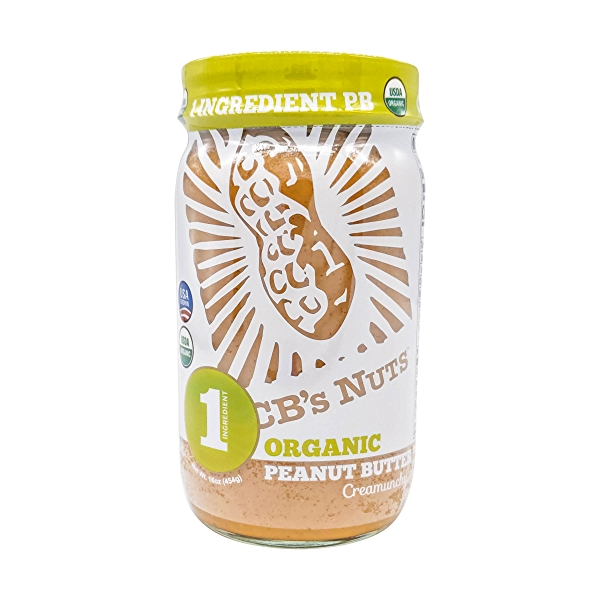 Organic One Ingredient Peanut Butter, 16 oz 1