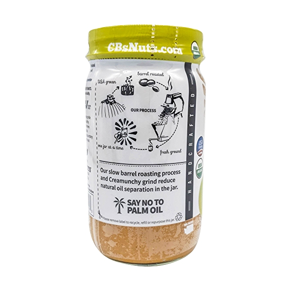 Organic One Ingredient Peanut Butter, 16 oz 4