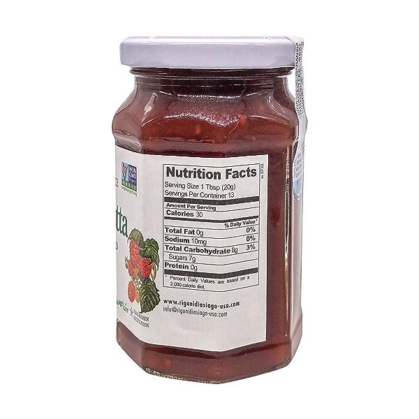 Organic Raspberry Fruit Spread, 8.82 oz 2