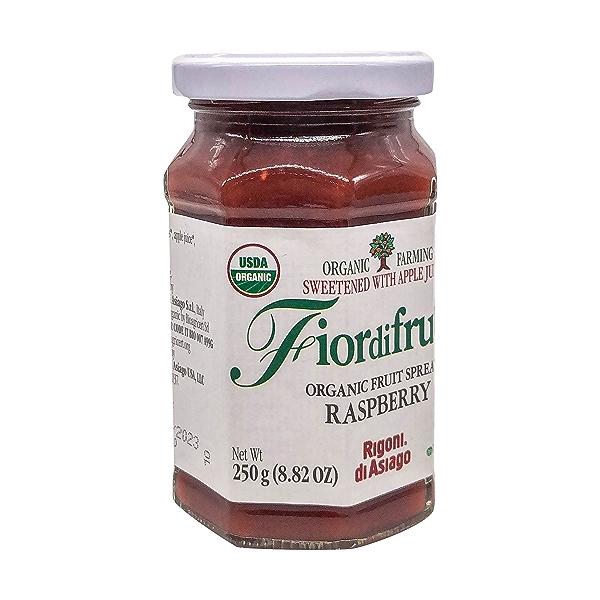 Organic Raspberry Fruit Spread, 8.82 oz 4