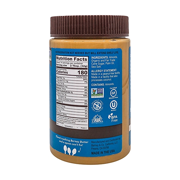 Smooth Almond Butter (16 oz) 2
