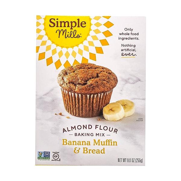 Banana Muffin & Bread Almond Flour Mix, 9 oz 1