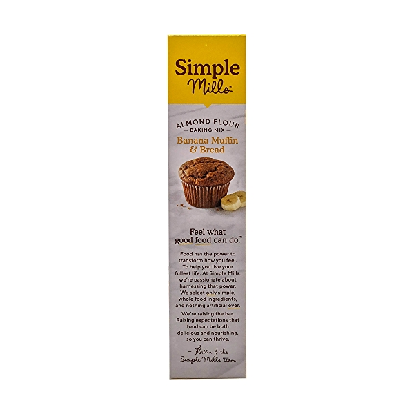 Banana Muffin & Bread Almond Flour Mix, 9 oz 4