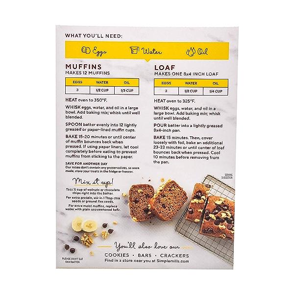 Banana Muffin & Bread Almond Flour Mix, 9 oz 3