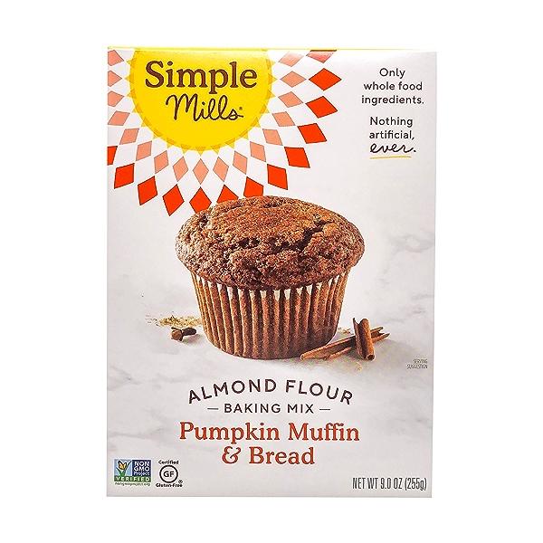 Pumpkin Muffin & Bread Almond Flour Mix, 9 oz 1