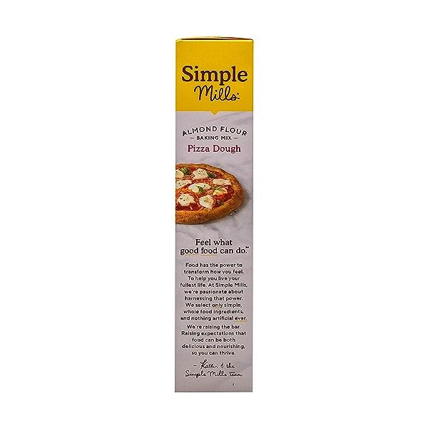 Pizza Dough Almond Flour Mix, 9.8 oz 4