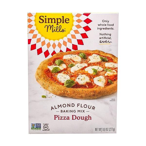 Pizza Dough Almond Flour Mix, 9.8 oz 1