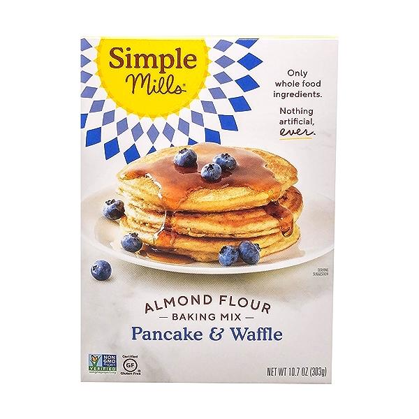 Pancake & Waffle Almond Flour Mix, 10.7 oz 1